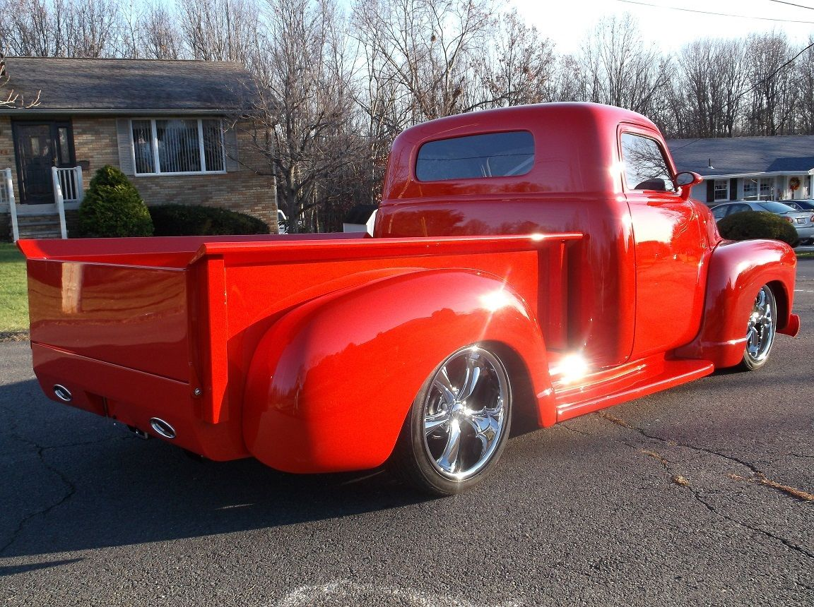 1948 chevrolet 3100 pick up pro touring custom for sale. Black Bedroom Furniture Sets. Home Design Ideas