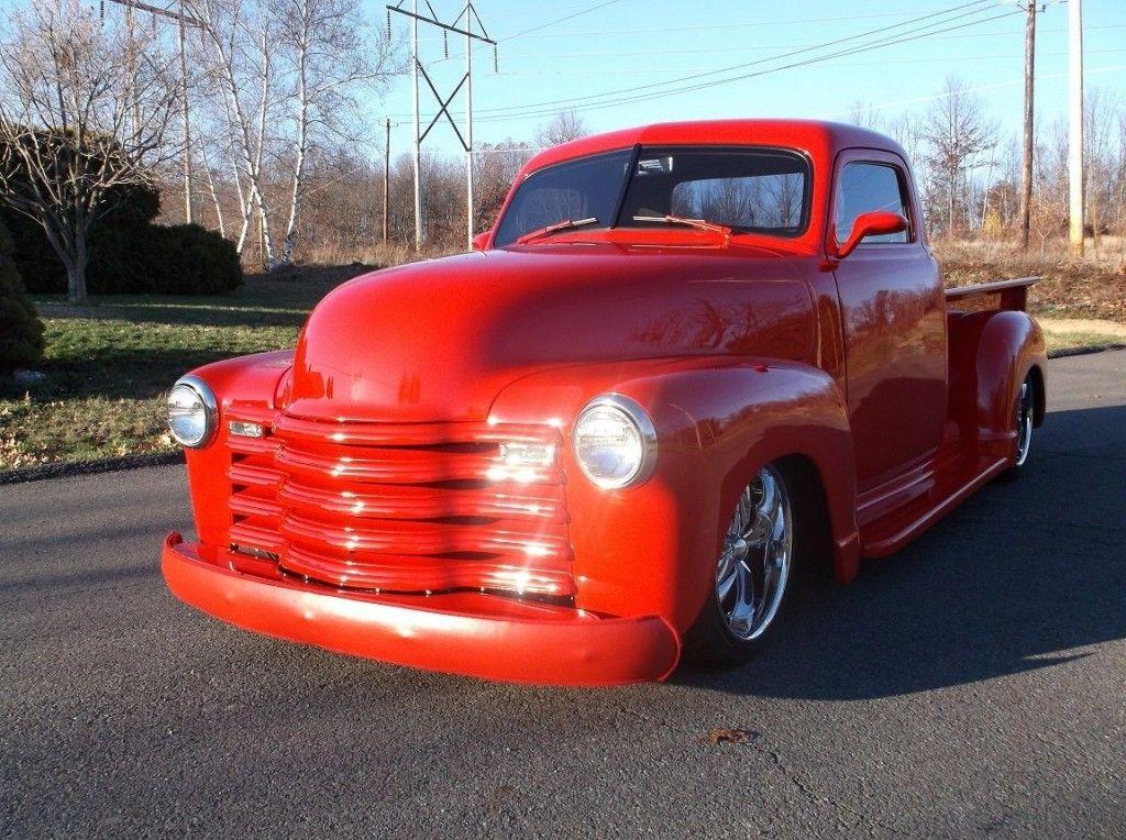 1948 chevrolet 3100 pick up pro touring custom for sale