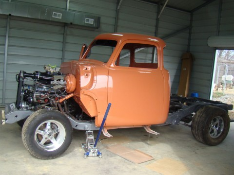 1949 Chevy 5 window pick-up on a S-10 frame for sale