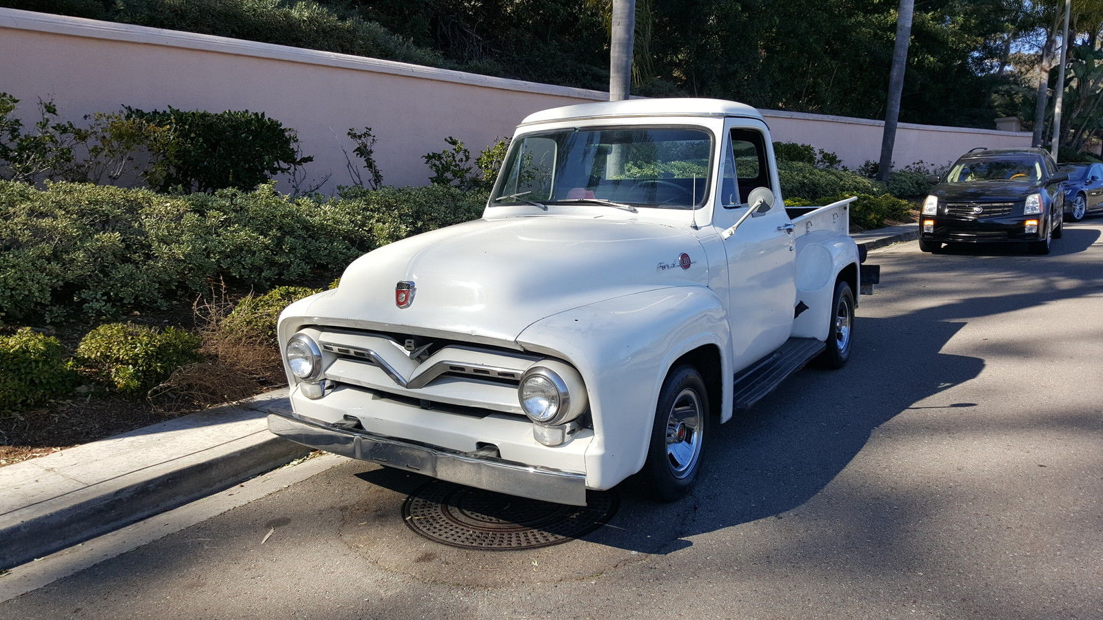 1955 Ford F 100 Short Bed Classic Stock V8 Kool Nostalgic