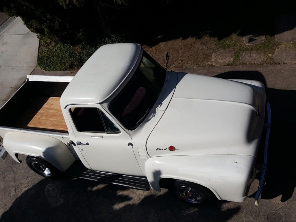 1955 Ford F 100 Short Bed Classic Stock V8 Kool Nostalgic Cruiser