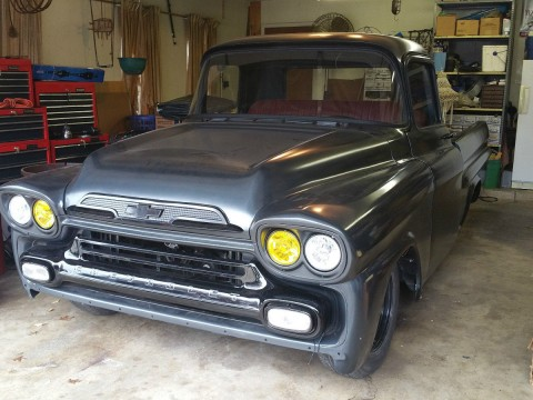 1959 Chevrolet Apache Twin Turbo Daily Driver Truck for sale
