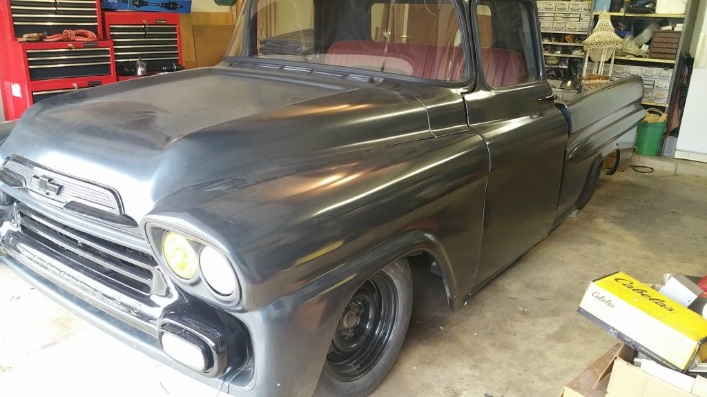 1959 Chevrolet Apache Twin Turbo Daily Driver Truck