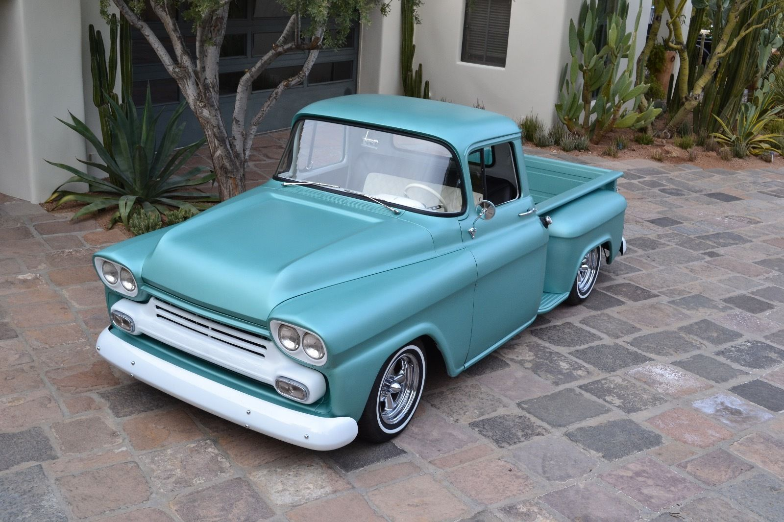 Rolling Truck Bed Covers >> 1959 Chevy Apache Pickup Truck 3100 Shortbed Custom Hot ...