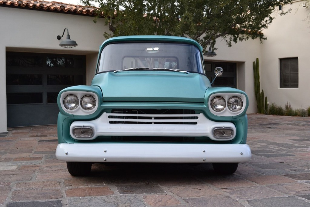 1959 Chevy Apache Pickup Truck 3100 Shortbed Custom Hot