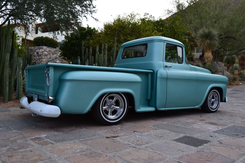 1959 Chevy Apache Pickup Truck 3100 Shortbed Custom Hot Rat Rod for sale