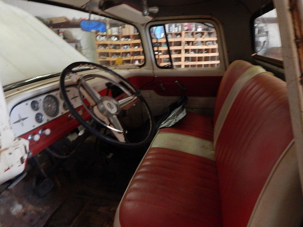 1960 Ford F100 Custom Cab 44 For Sale 1955 Interior