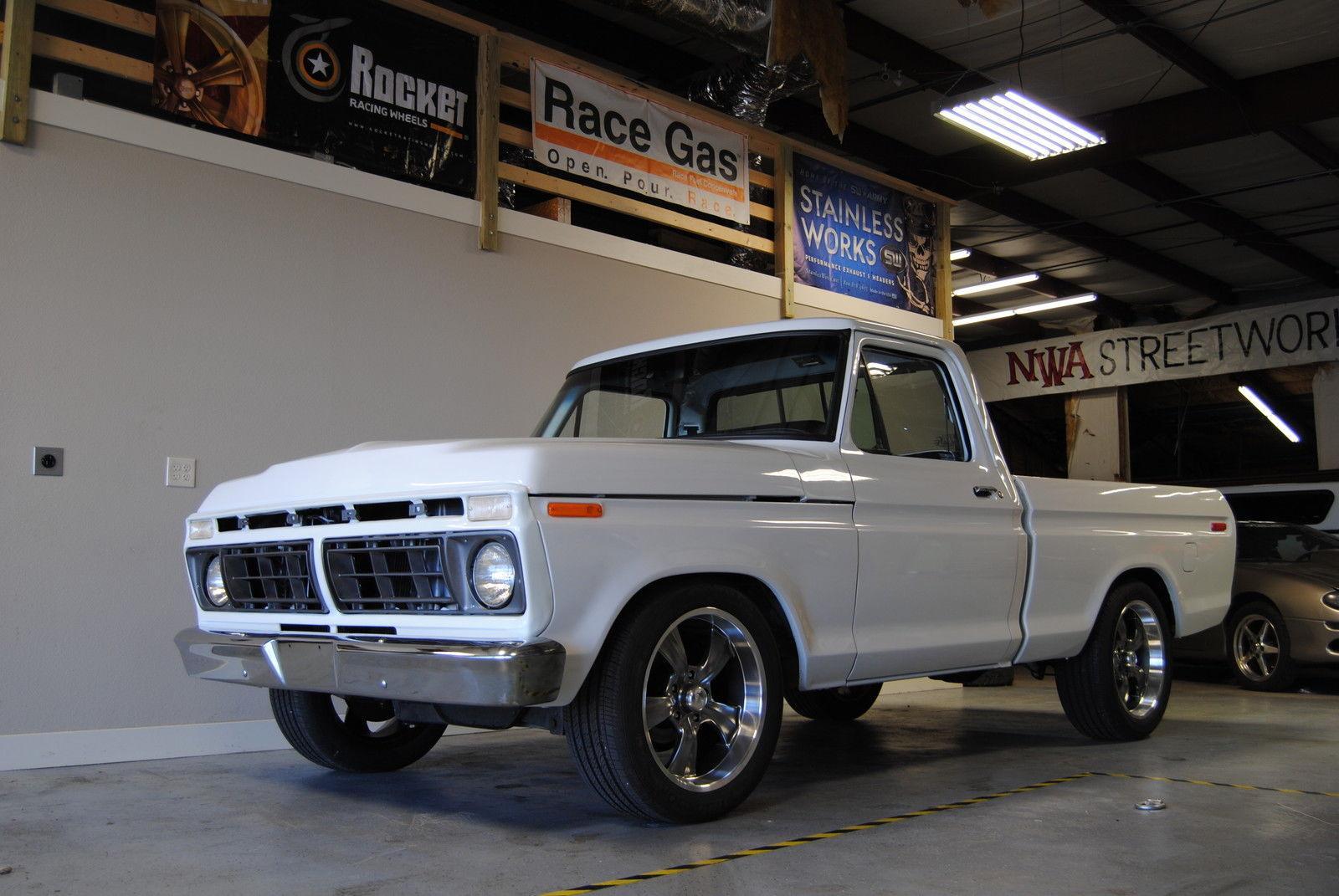 1977 ford f 100 custom standard cab pickup 50l for sale publicscrutiny Images
