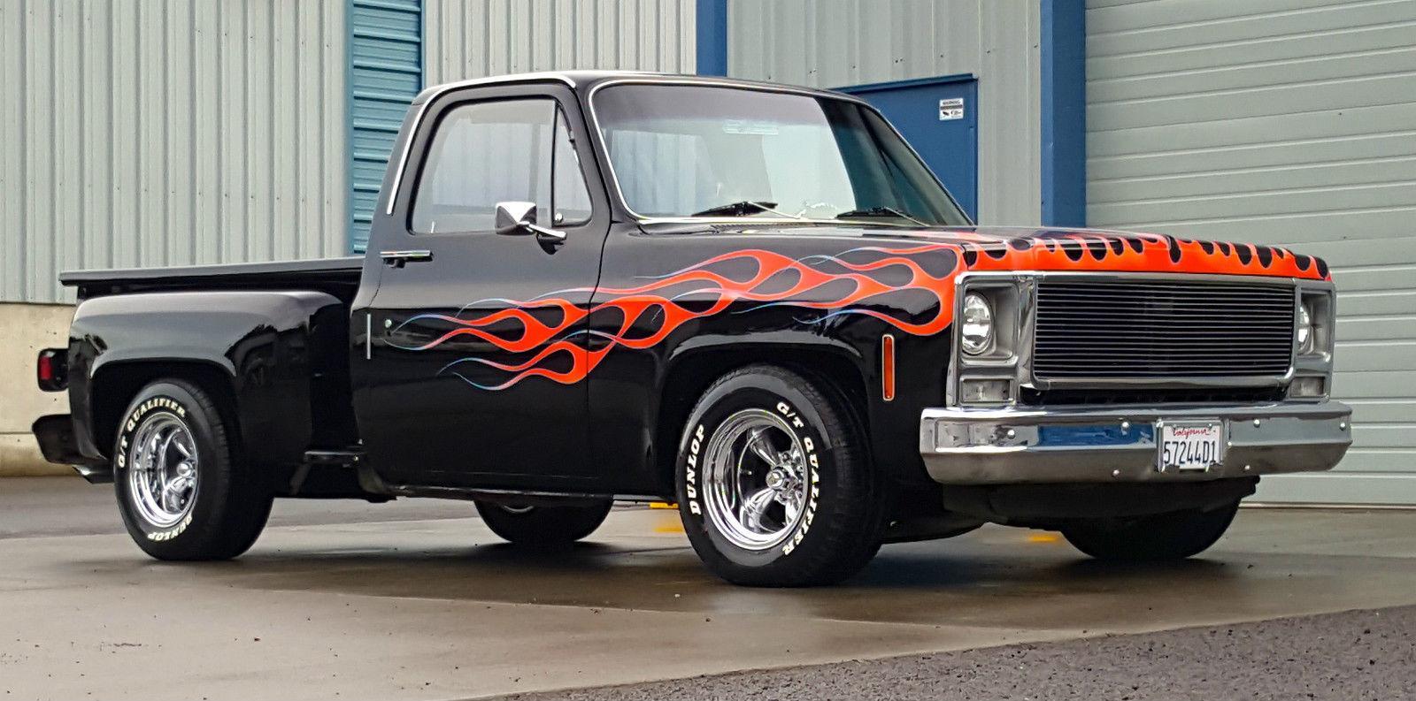 1979 Chevrolet C 10 Scottsdale Step Side Pickup Custom for ...