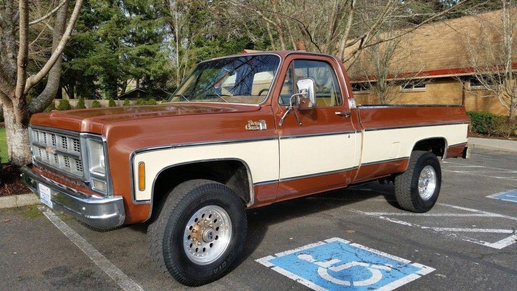 Classic 4×4 Trucks For Sale >> 1979 Gmc Sierra Classic 1 Ton 4 4 V8 For Sale