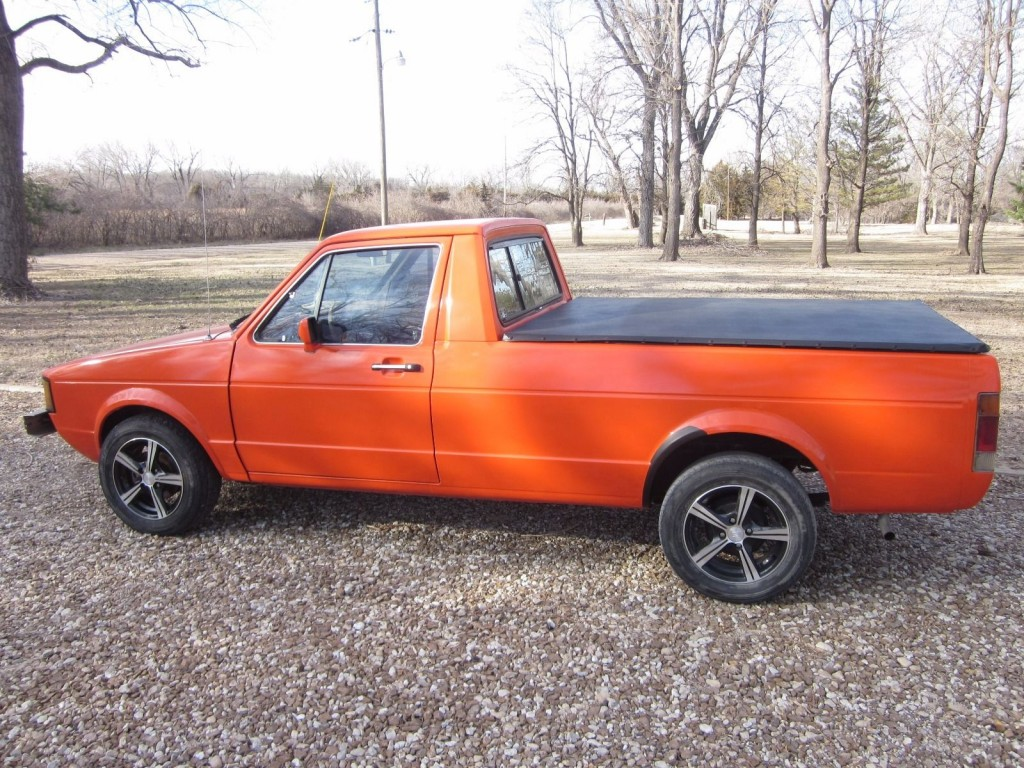 1982 volkswagen rabbit pickup truck for sale. Black Bedroom Furniture Sets. Home Design Ideas
