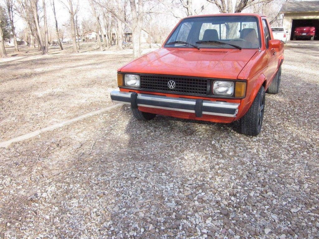 1982 Volkswagen Rabbit Pickup Truck for sale