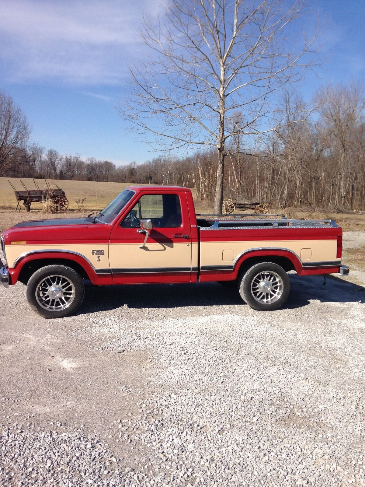 1986 ford f150 short bed pickup for sale. Black Bedroom Furniture Sets. Home Design Ideas