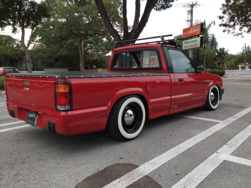 1990 Mazda B2600i pick up truck custom for sale