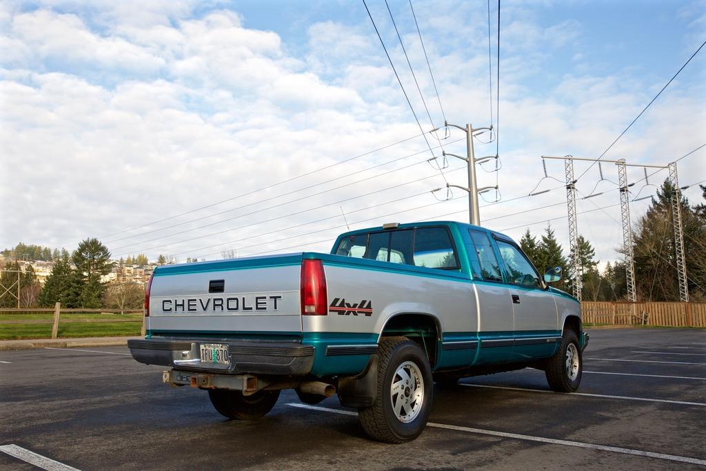 1993 Chevy Silverado K2500 Extcab 4x4 Shortbed For Sale
