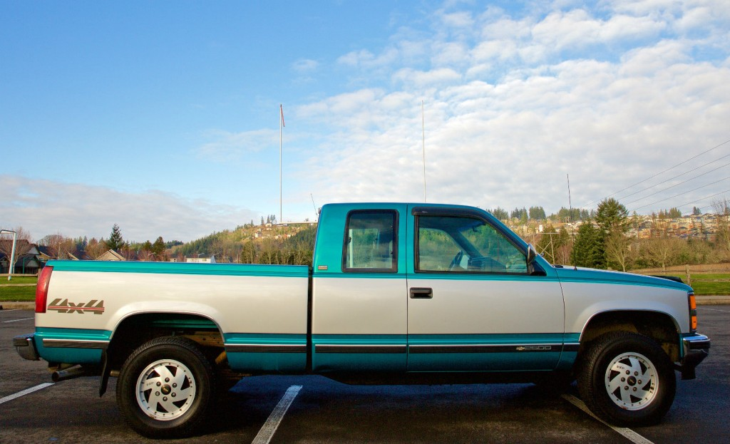 1993 Chevy Silverado K2500 Extcab 4x4 Shortbed For Sale