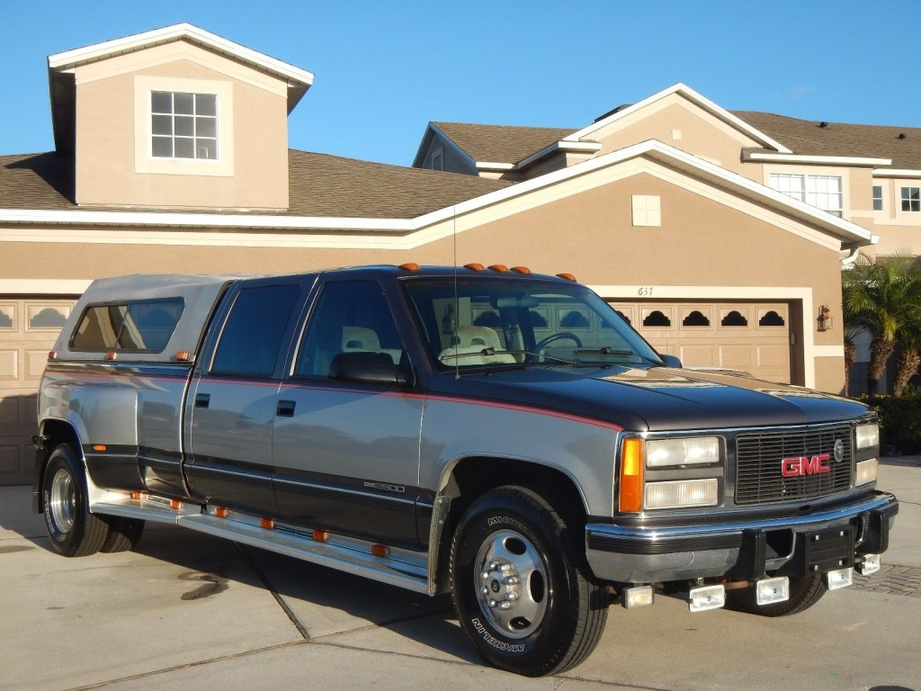 1993 GMC Sierra 3500 Crew Cab 65 Turbo Diesel Dually For Sale