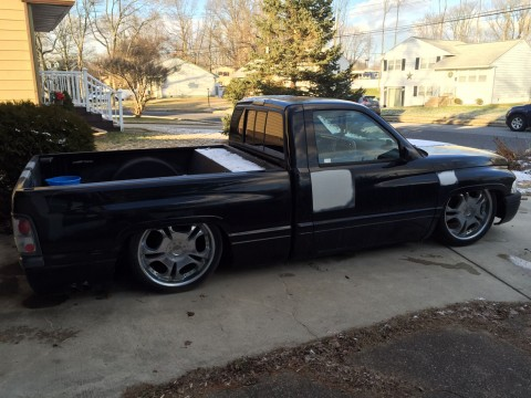 1997 Dodge Ram 1500 SST Bagged Shop Truck for sale