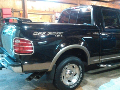 2001 Ford F 150 Supercrew Lariat Truck for sale