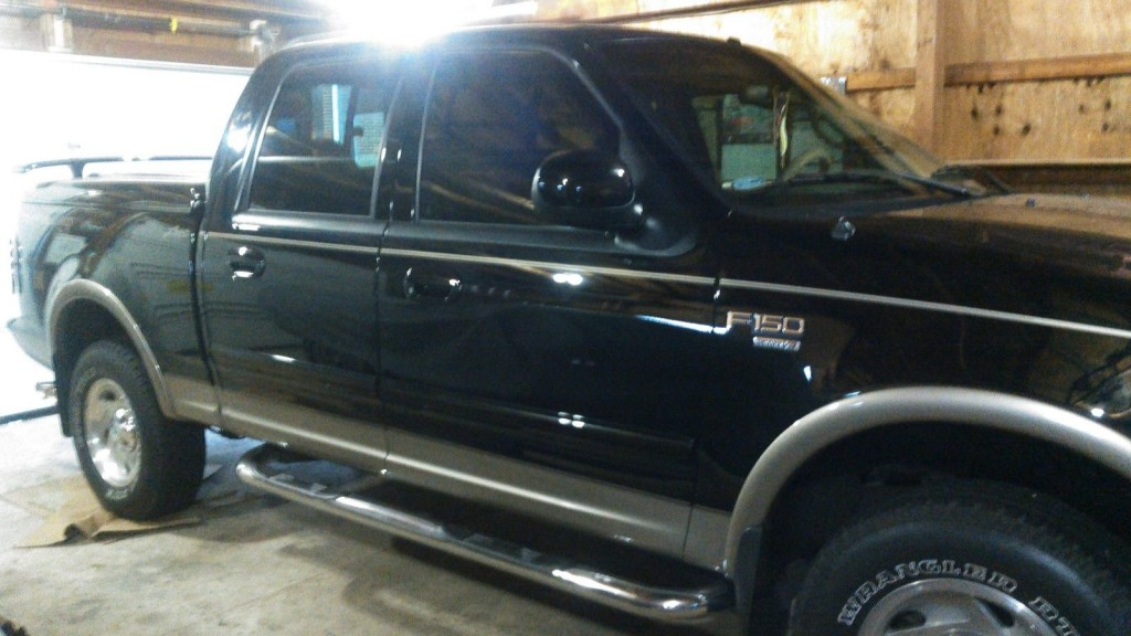2001 ford f 150 supercrew lariat truck for sale. Black Bedroom Furniture Sets. Home Design Ideas