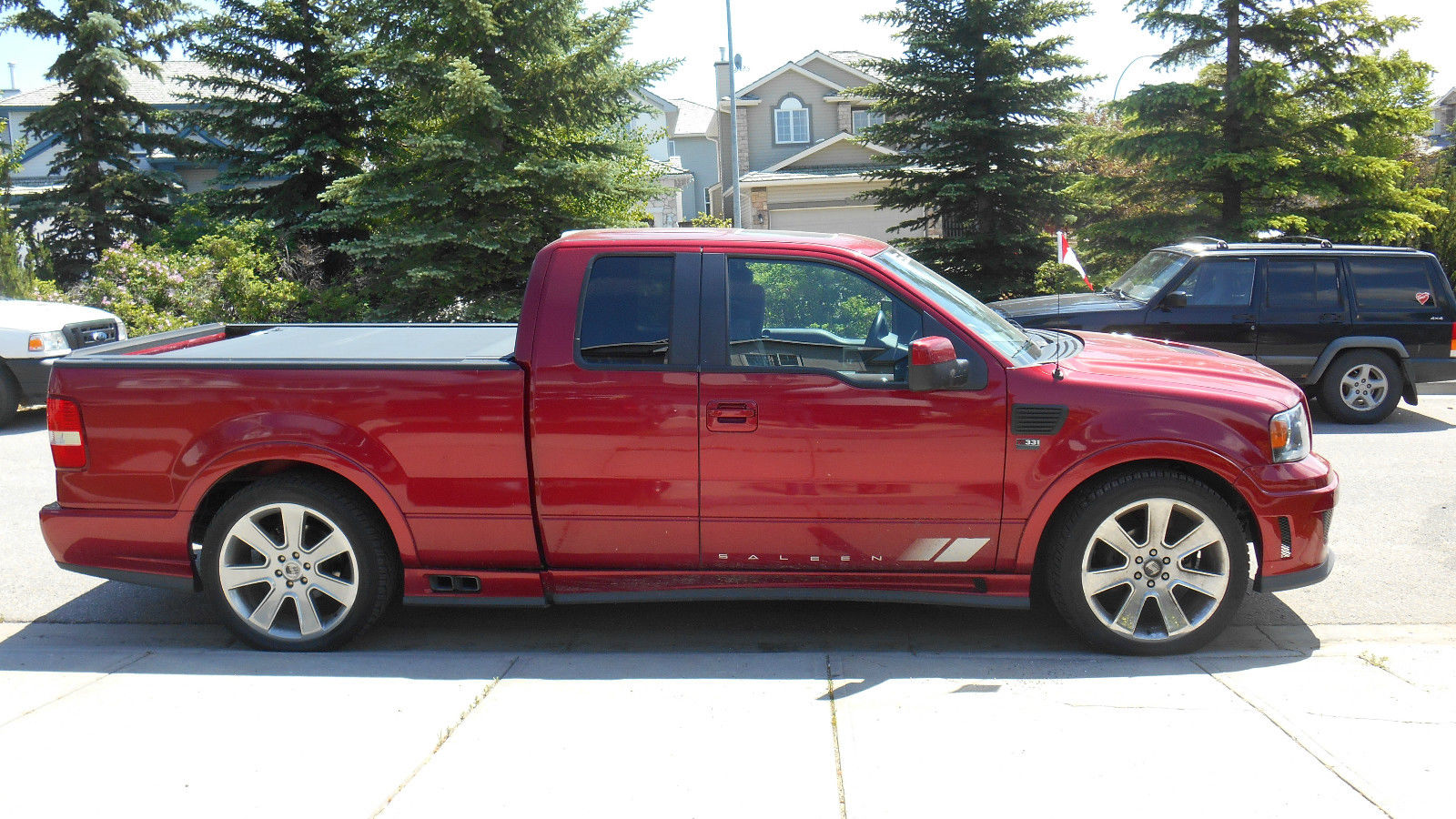 2007 ford saleen s331 truck for sale autos post. Black Bedroom Furniture Sets. Home Design Ideas
