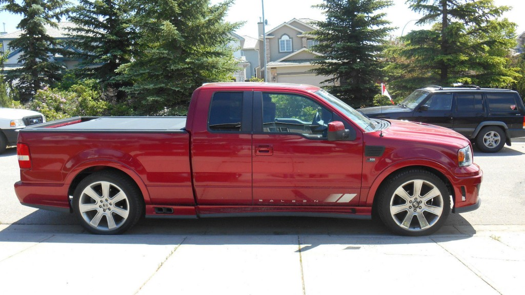 2007 ford f 150 saleen s331 supercharged sport truck for sale. Black Bedroom Furniture Sets. Home Design Ideas
