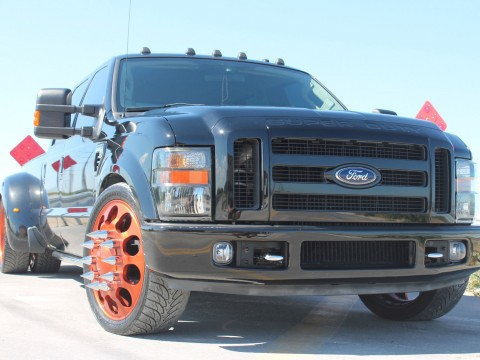 2008 FORD F350 Custom Harley Platinum for sale