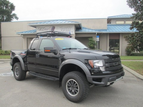 2010 Ford F 150 SVT Raptor 4×4 Supercab Styleside for sale