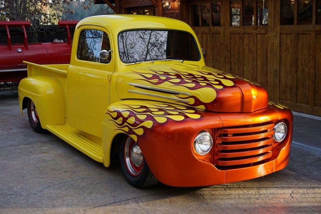 Vintage Truck For Sale >> 1948 Ford F100 Truck Hot Rod Custom for sale