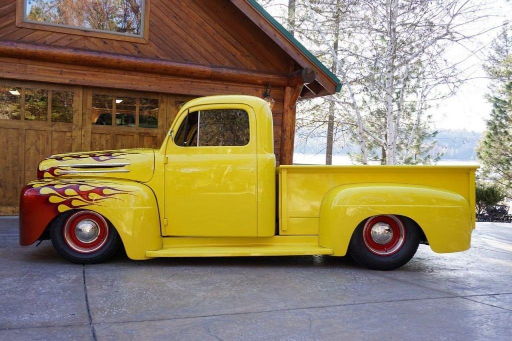 Ford F Truck Hot Rod Custom For Sale X