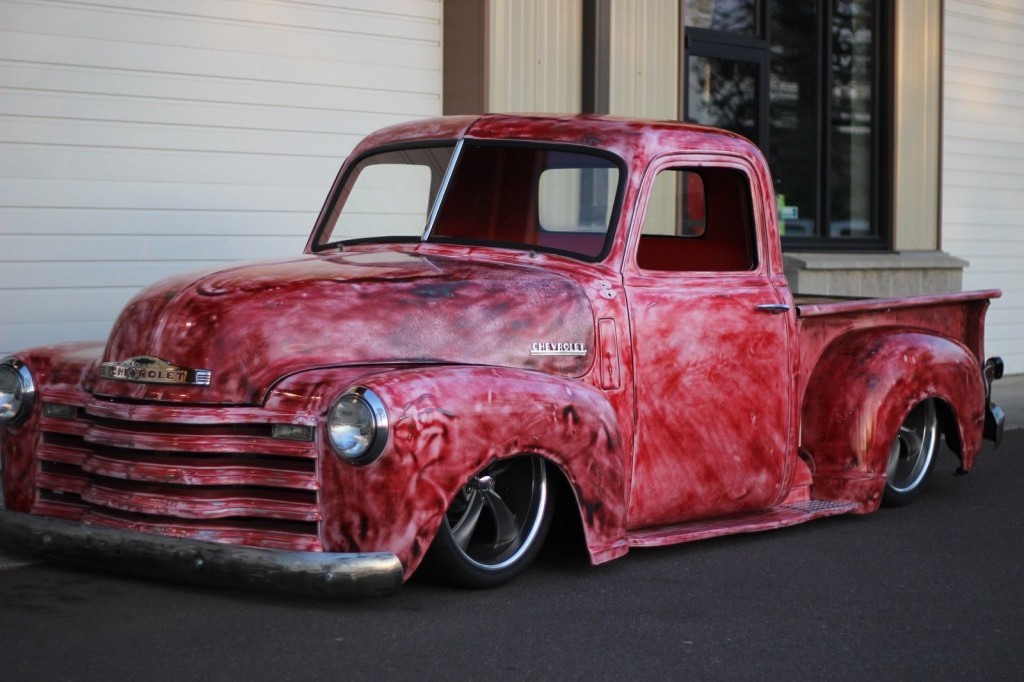 1950 Chevrolet 3100 Patina Custom Air Ride Hot Rod