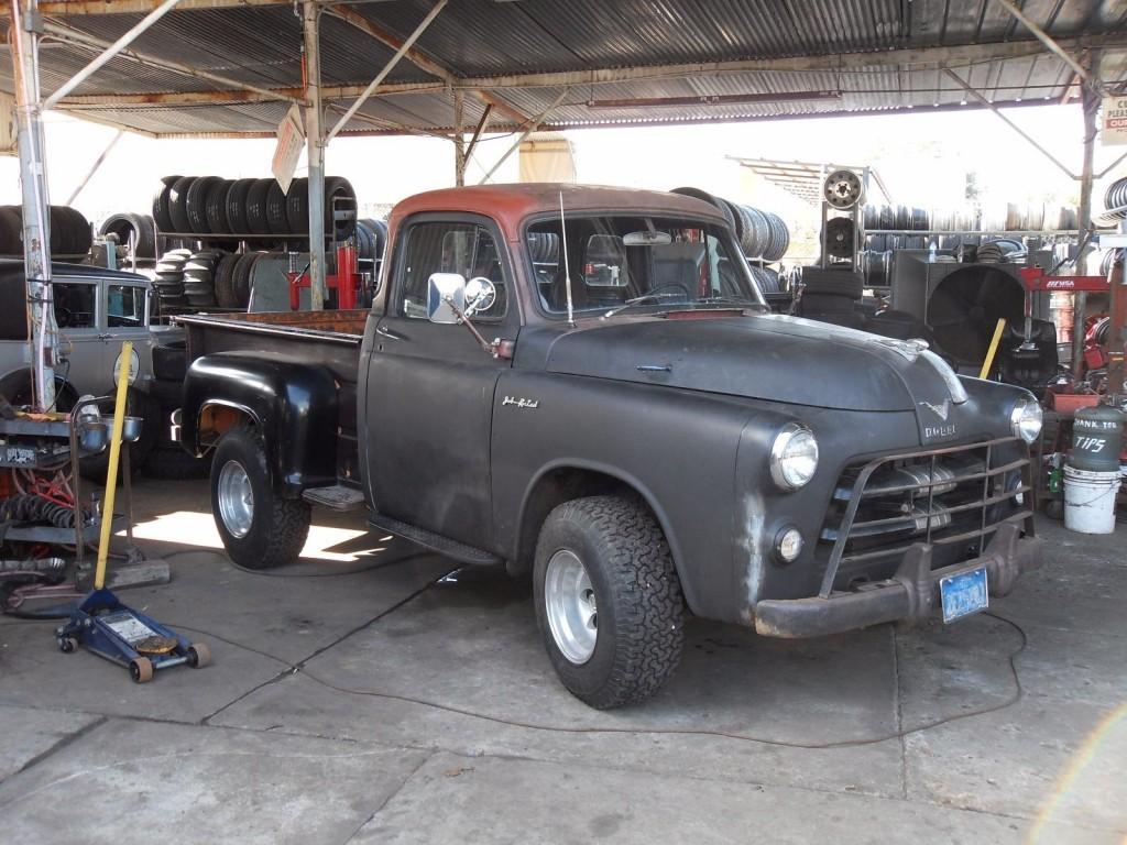 0old Dodge Trucks For Sale 1954 Tow Truck C 1 Pilot House Pick Up Rat Rod Hot