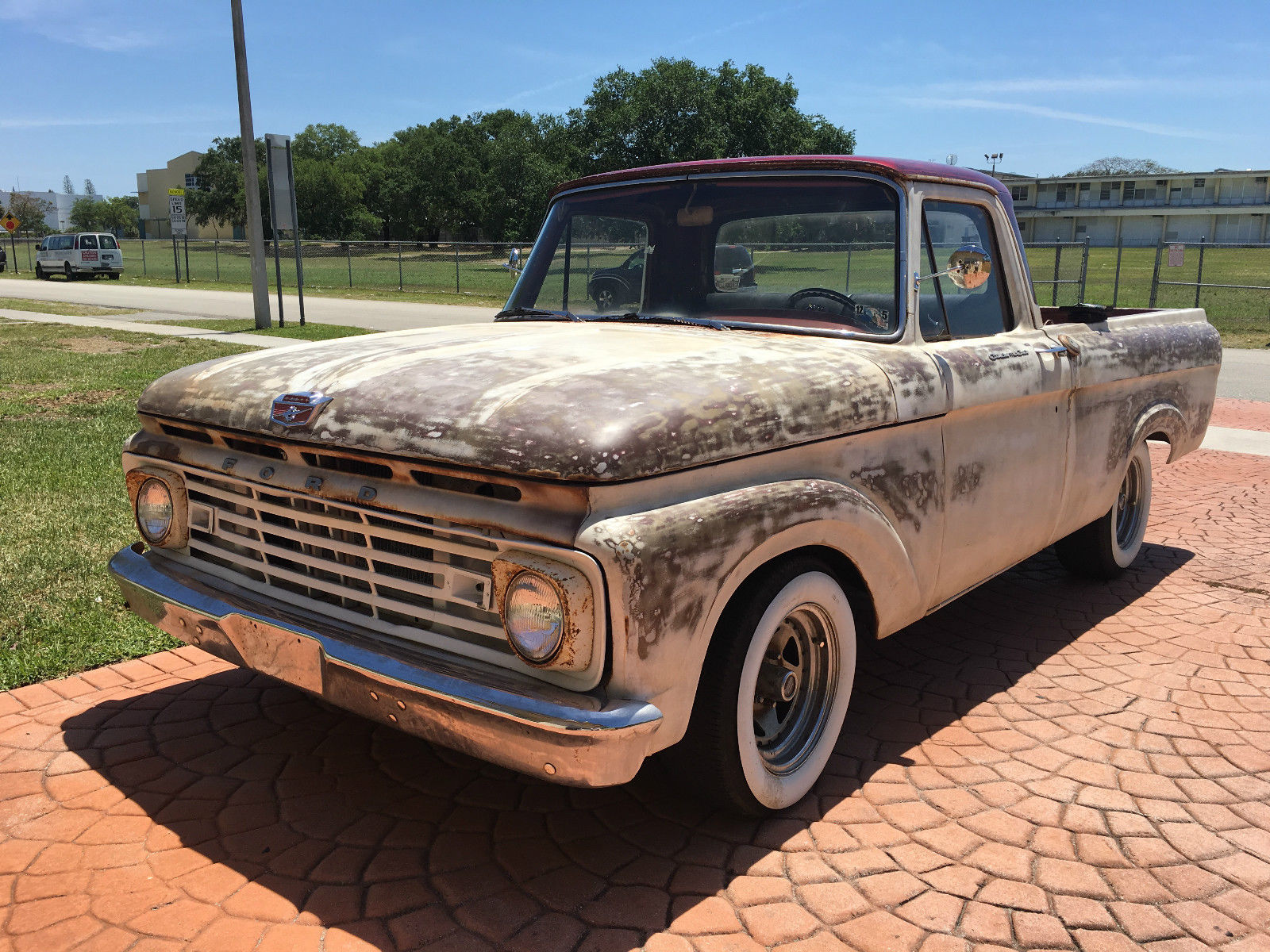 Trucks For Sale: 1963 Ford F 100 Unibody Patina Truck For Sale