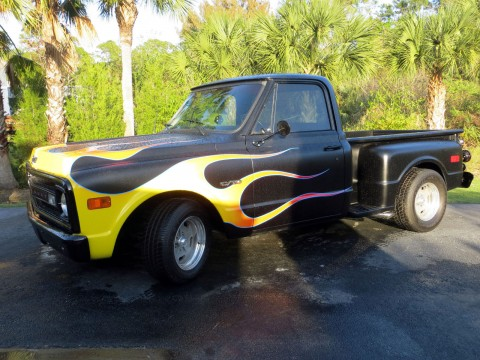 1970 Chevrolet C 10 Step Side Short Box Customized for sale