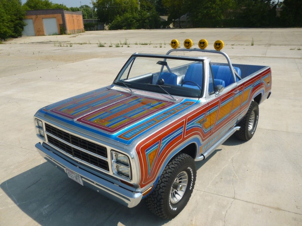 1980 Plymouth Trail Duster Custom 4X4 Mopar show Truck for ...