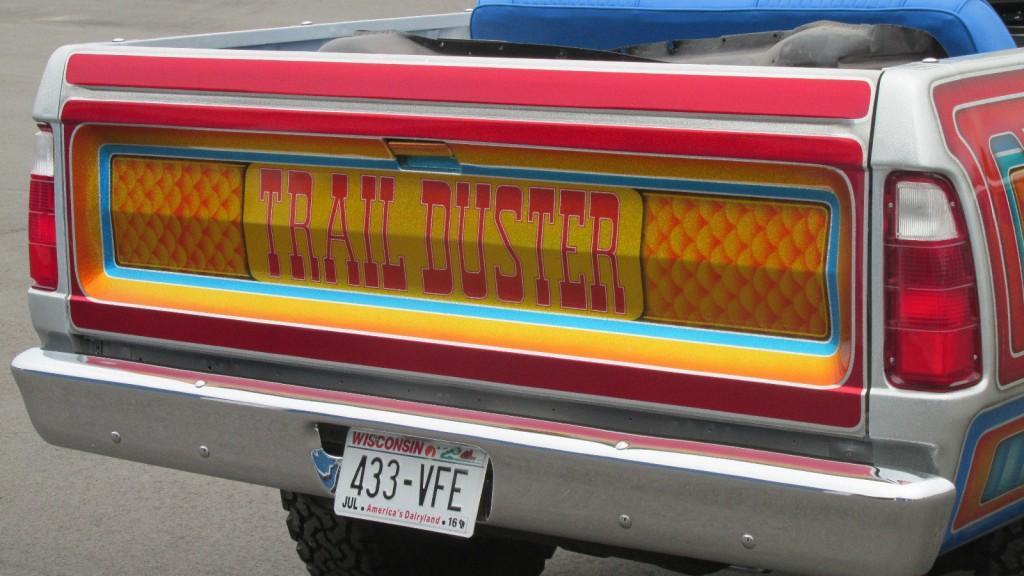 1980 Plymouth Trail Duster Custom 4X4 Mopar show Truck for sale