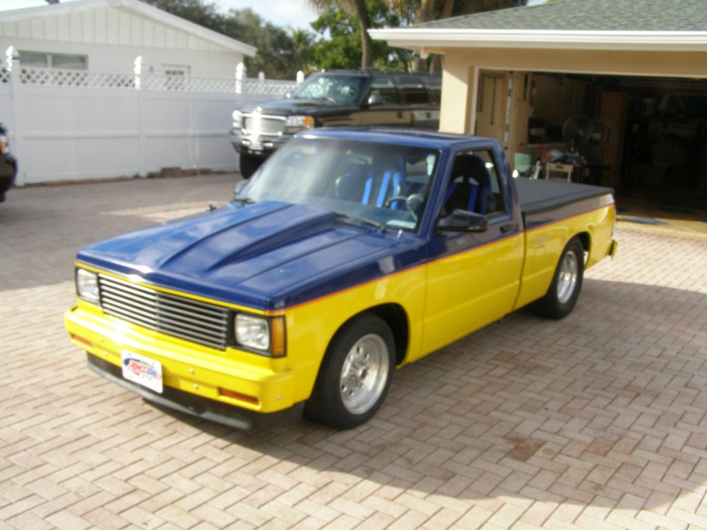 1982 chevrolet s 10 prostreet for sale. Black Bedroom Furniture Sets. Home Design Ideas