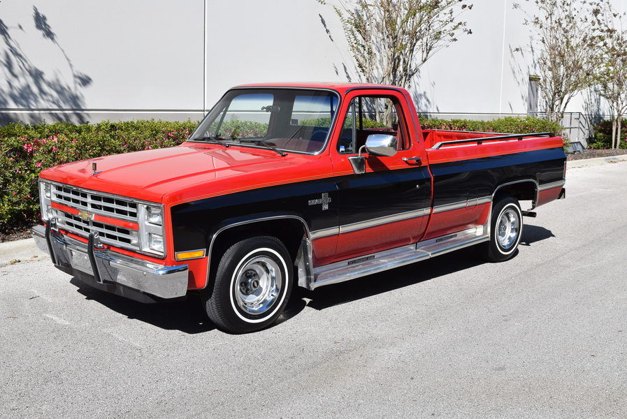 1985 chevrolet c10 silverado pickup for sale. Black Bedroom Furniture Sets. Home Design Ideas