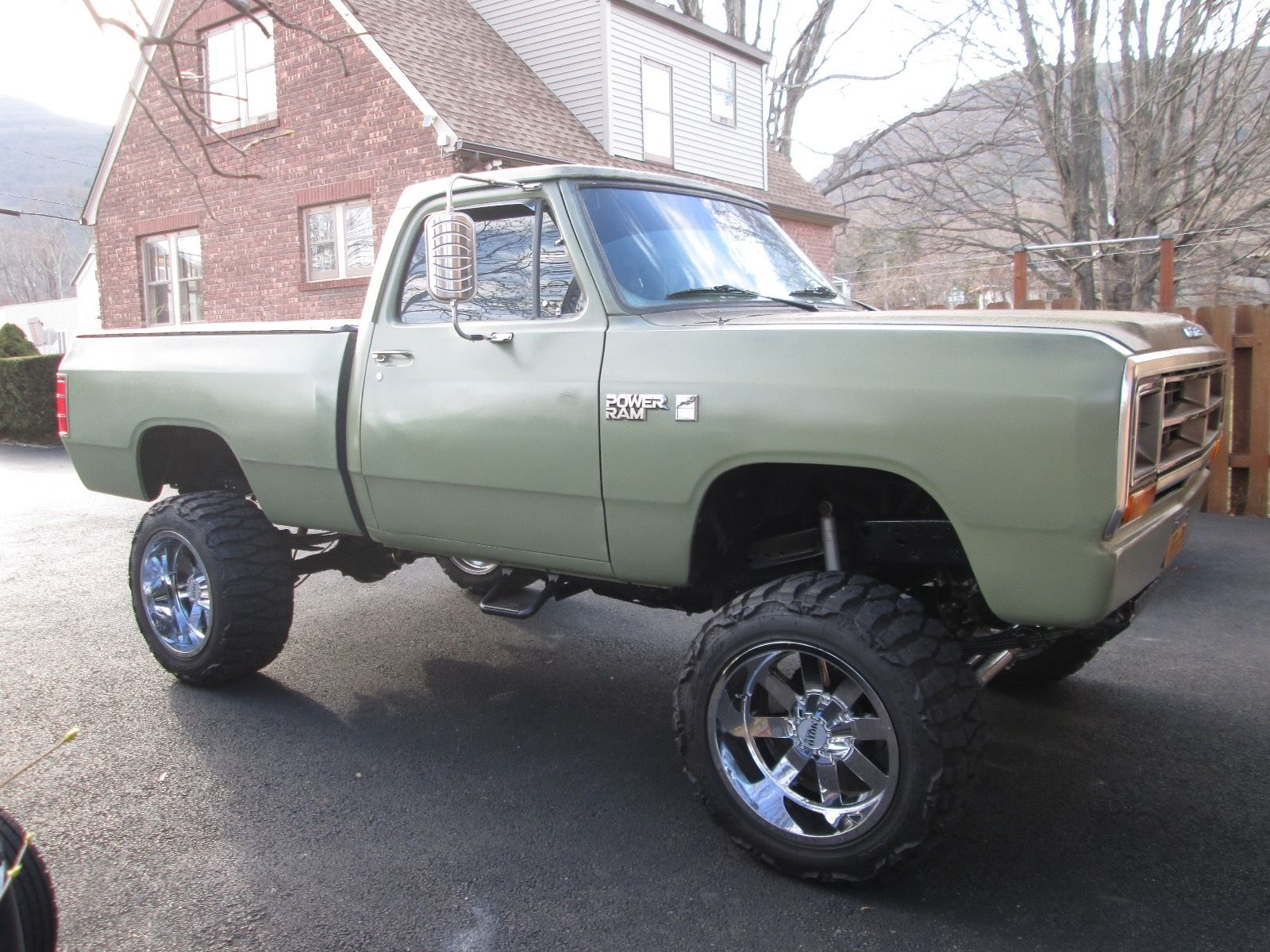 1987 Dodge W150 Power Ram Royal Se Lifted Restored Custom