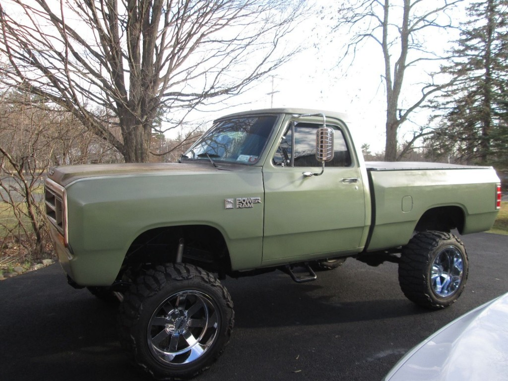 1987 Dodge W150 Power Ram Royal SE Lifted Restored Custom Truck for sale