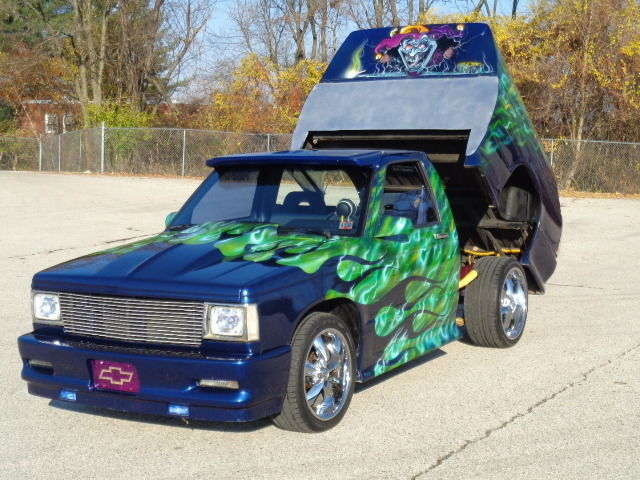 1988 chevrolet s 10 flt wideside custom show car for sale. Black Bedroom Furniture Sets. Home Design Ideas