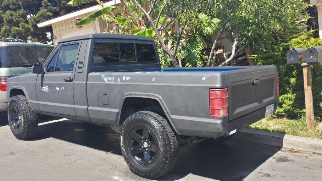Jeep Comanche Bed Cover