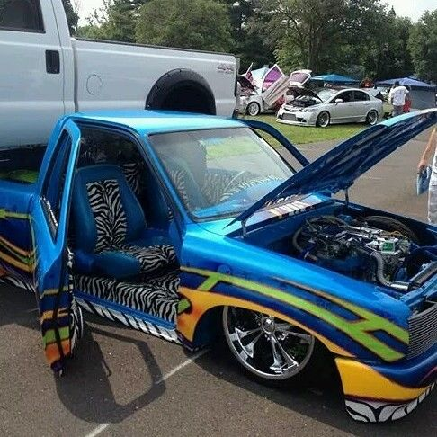 Toyota Show Truck Bagger Lowrider For Sale