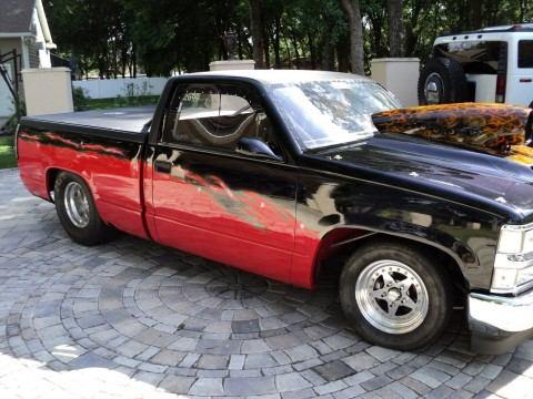 1993 Chevrolet Silverado 1500 PK chopped truck roller for sale