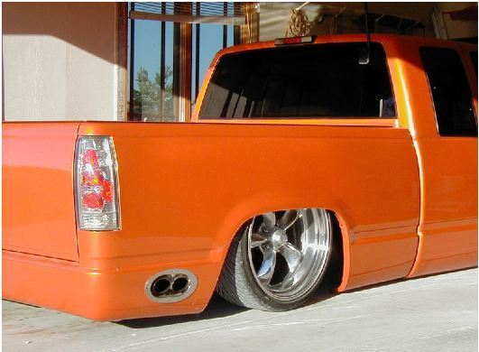 1995 Chevy C1500 Dropped Bagged For Sale