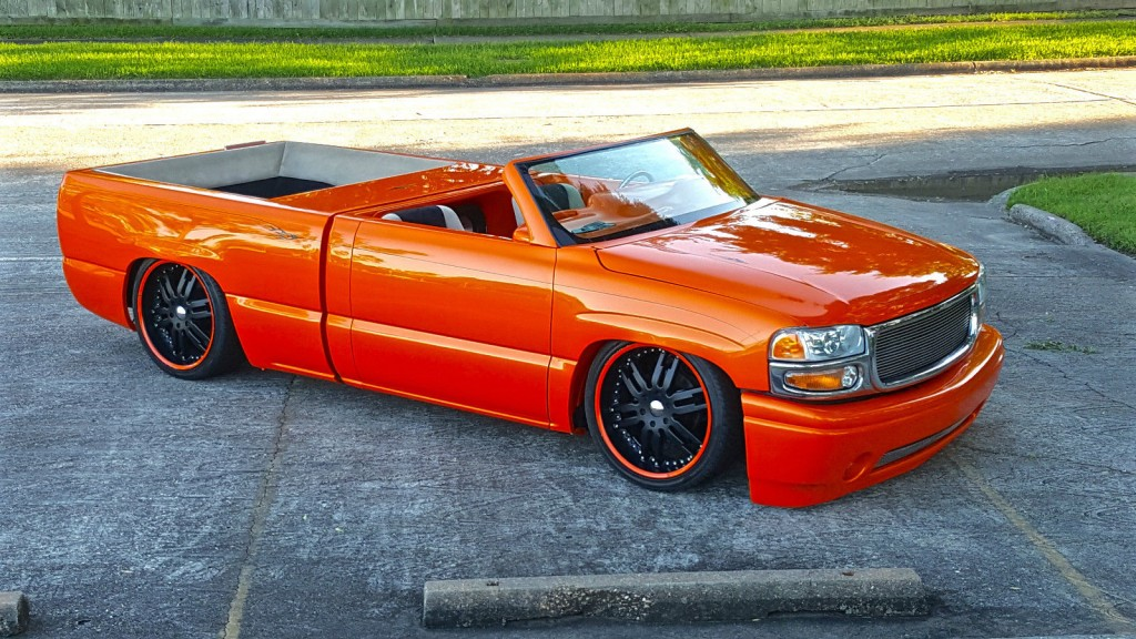 2001 Chevrolet Silverado 1500 Roadster Custom Truck For Sale