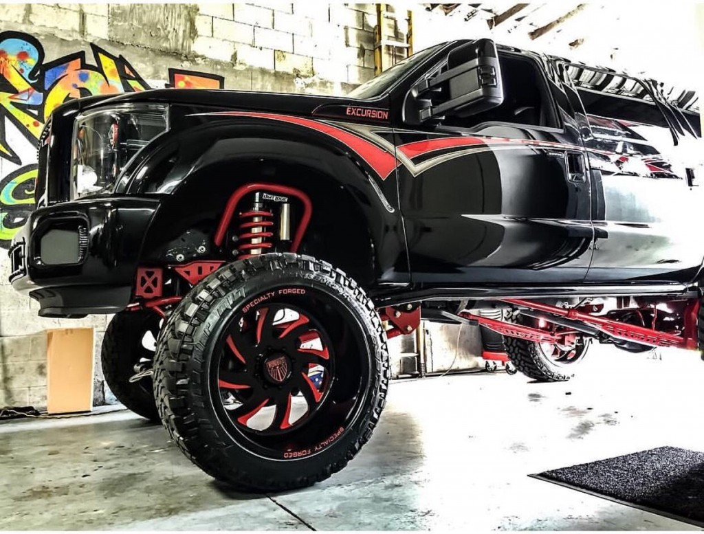 Vehicles For Sale: 2004 Ford Excursion Custom Show Truck For Sale
