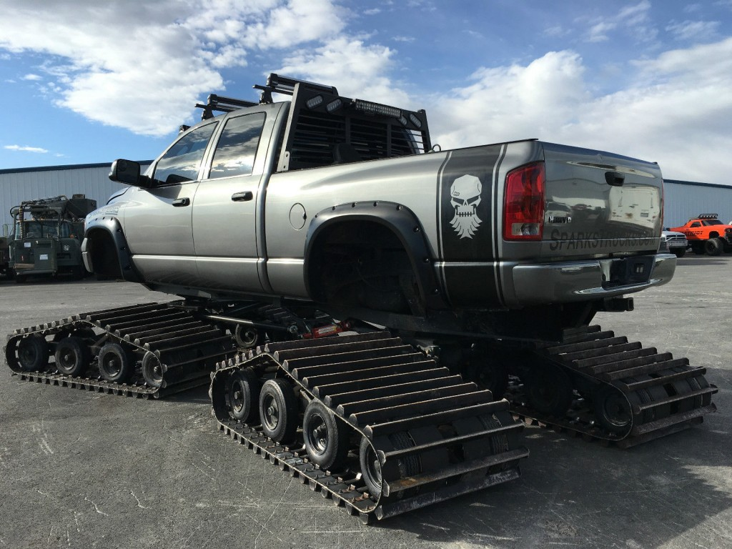 2005 Custom Dodge 2500 Cummins Tucker Snowcat Conversion ...