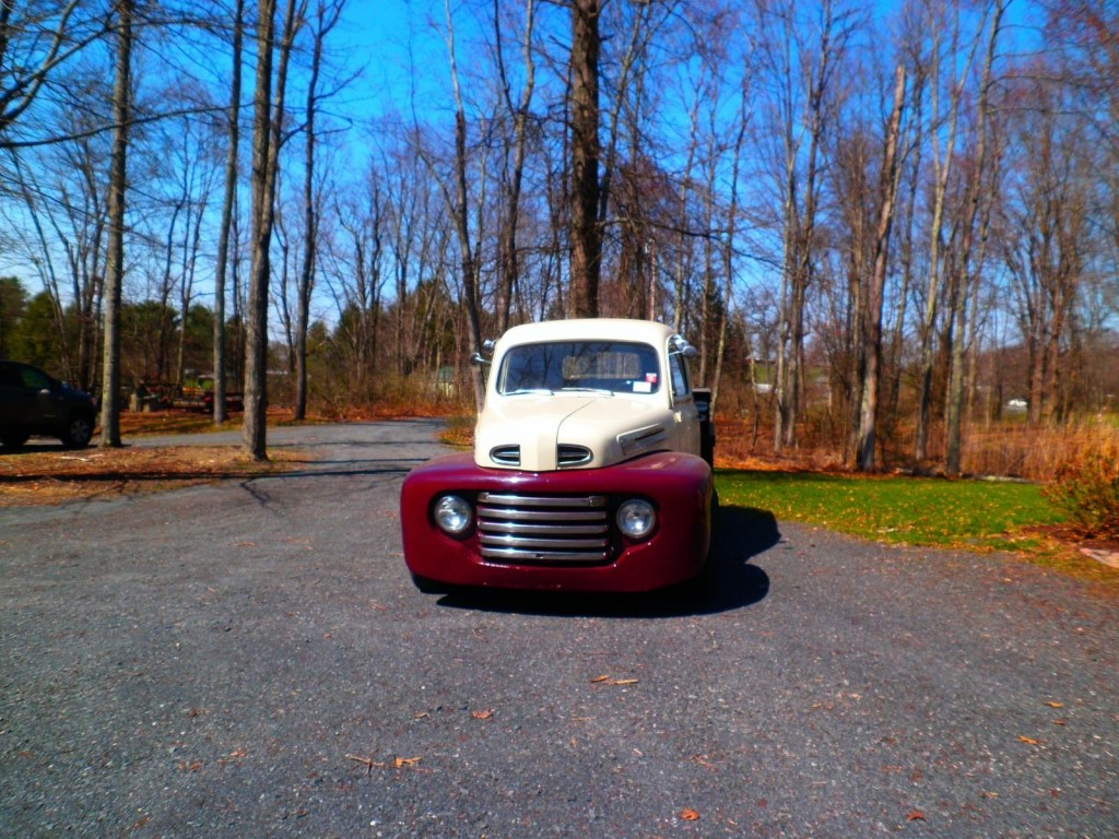 1949 Ford Pickup Custom Hot Rod Truck For Sale Chevy