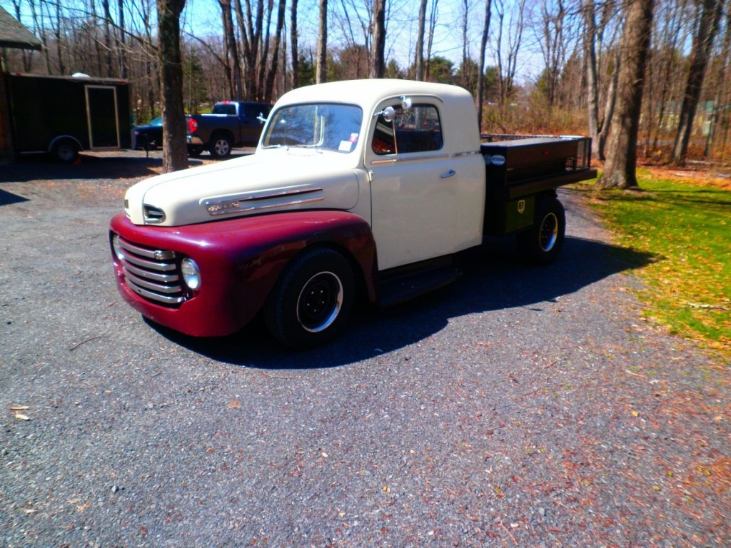 1949 Ford Pickup Custom Hot Rod Truck For Sale